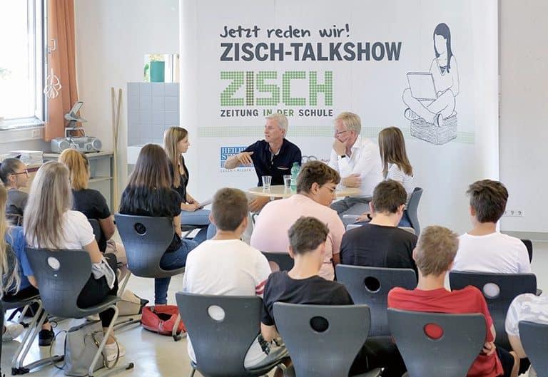 Zisch-Talkshow an der Heilbronner Wilhelm-Hauff-Schule