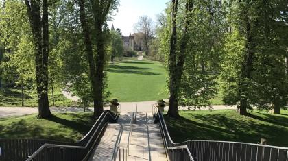 Heimat: sich im Öhringer Park wohlfühlen Foto: Laura Sterk