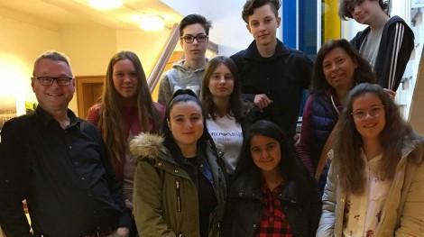 Schüler besuchen das Rathaus in Gemmrigheim